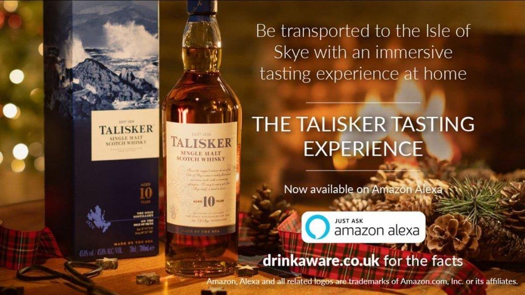 Talisker tasting experience