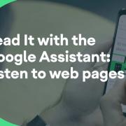 Lettura schermo con Google Assistant