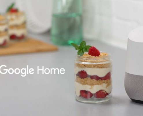 Google Home introduce il bottone Cucina in SERP