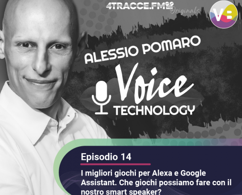 I migliori giochi per Alexa e Google Assistant - Podcast Voice Technology - Episodio 14