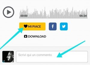 Commenti e reaction su Spreaker