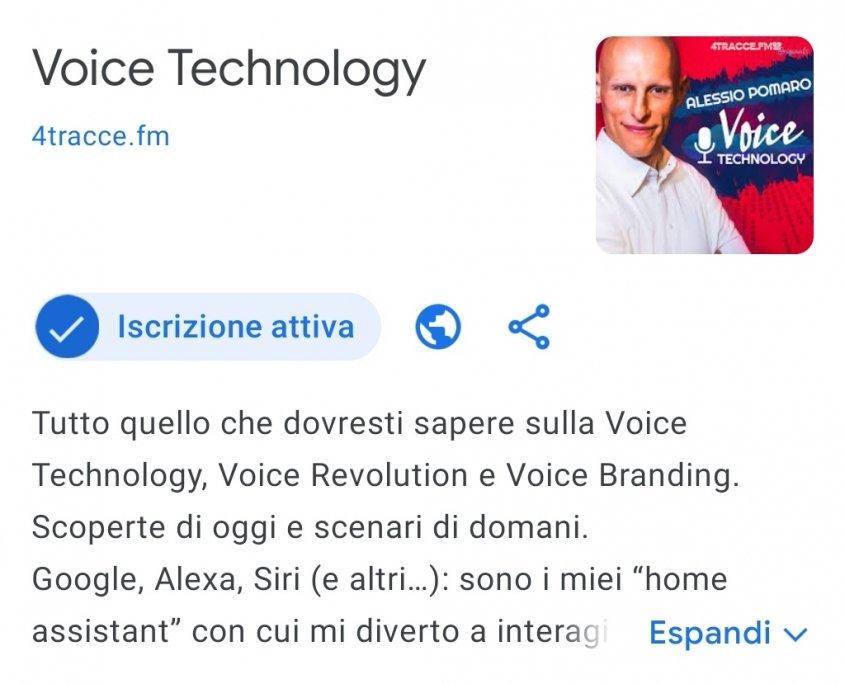 Google Podcasts: iscrizione