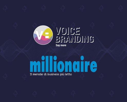 Voice Technology di Alessio Pomaro su Millionaire di marzo 2021