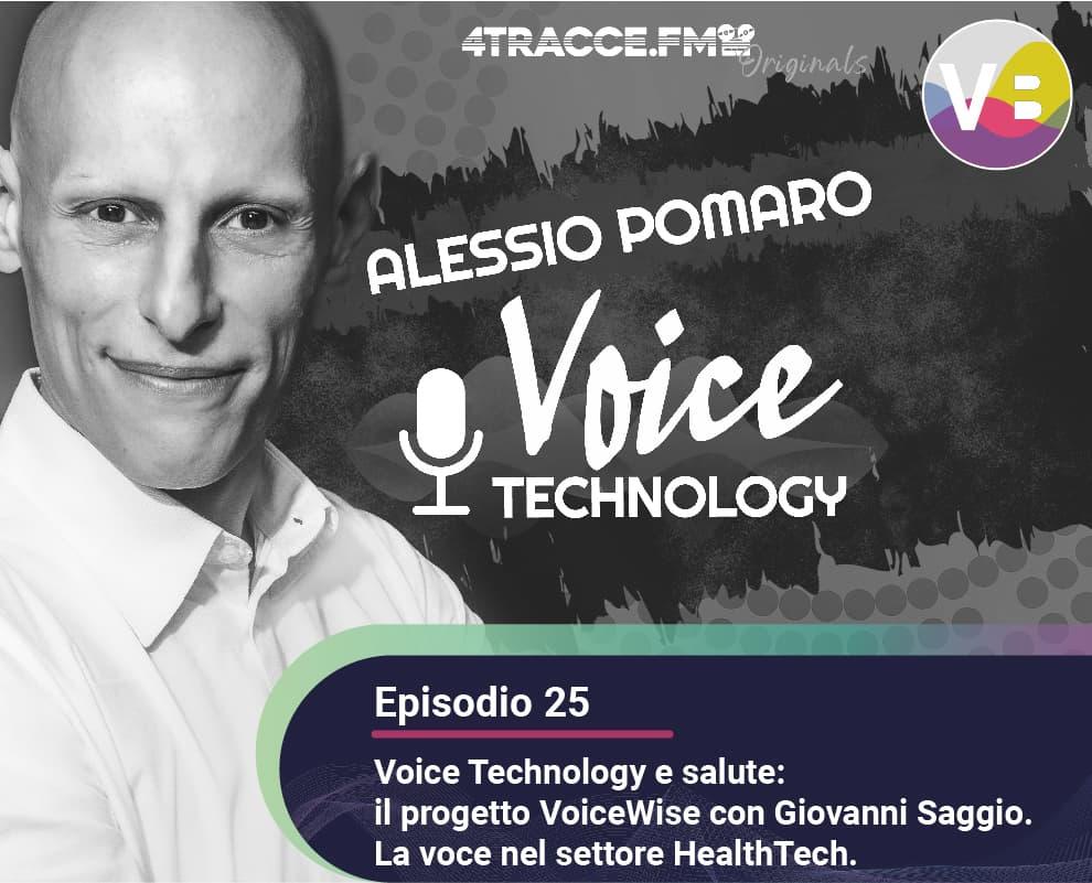 Voice Technology e salute: il progetto VoiceWise con Giovanni Saggio. La voce nel settore HealthTech