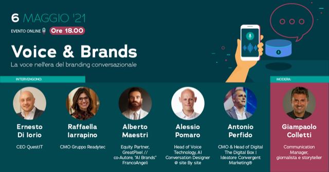 Voice & Brands - Convergent Marketing - Alessio Pomaro speaker