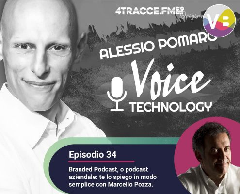 Branded podcast, Alessio Pomaro intervista Marcello Pozza